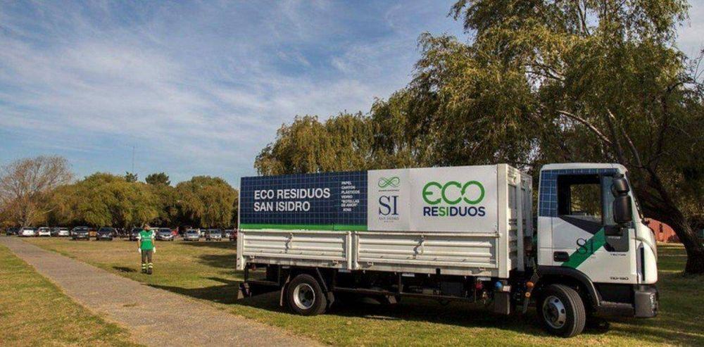 En San Isidro ya recolectan residuos reciclables casa por casa en todo el partido