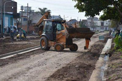 Obras del Fondo de Infraestructura Municipal en Merlo
