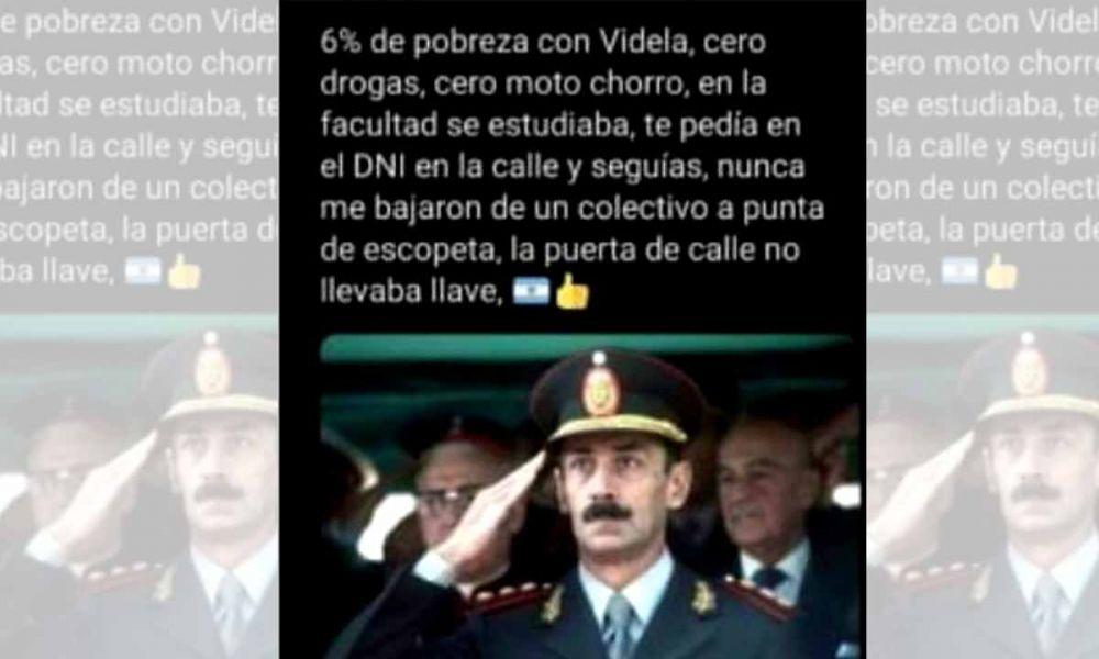 Inician sumario contra una fiscal que reivindicó a Videla