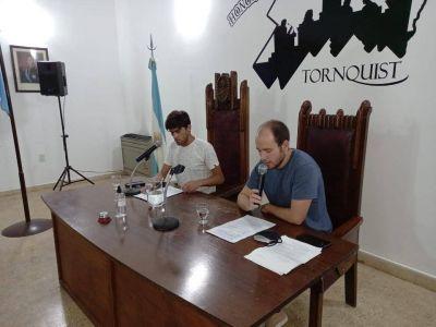 Manuel Castro habla de la sesión del concejo deliberante y la campaña de la UCR