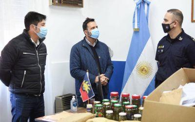 """Aiola afirmó que en Chacabuco """"se trabaja incansablemente contra el narcotráfico"""""""