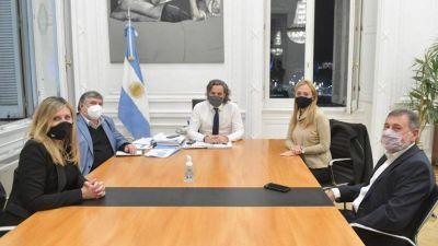 Cafiero recibió a los senadores después de los cruces por el FMI