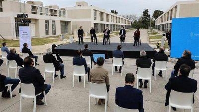 Alejo Chornobroff participó del acto de entrega de la vivienda diez mil del programa Casa Propia