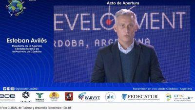 Avilés abrió el I Foro Glocal de Turismo y Desarrollo Económico