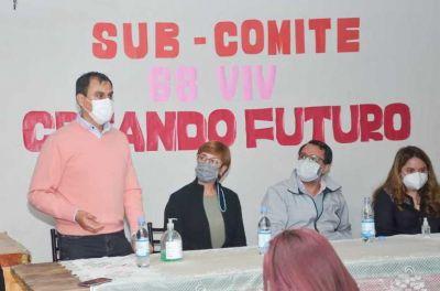 Candidatos de Cambia Jujuy se reunieron con vecinos de Alto Comedero