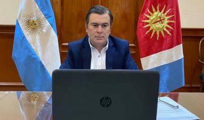 El gobernador mantiene una reunión con el ministro de Transporte
