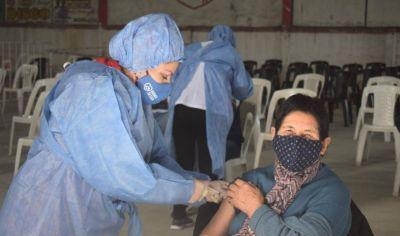 Ojo de Agua: se realizó con éxito la vacunación y ya hay más de 1100 personas con las dos dosis