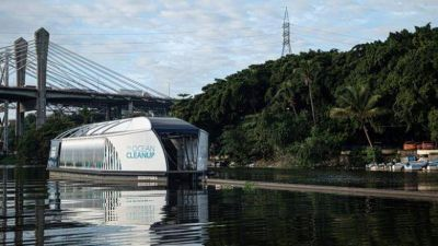 The Coca-Cola Company y The Ocean Cleanup se unen contra la contaminación de plástico en océanos y ríos en el mundo