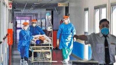 Covid-19: suman 35.017 nuevos casos, 587 muertes y hay 7.614 internados en terapia intensiva