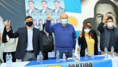 El PJ presentó ayer sus candidatos a concejales