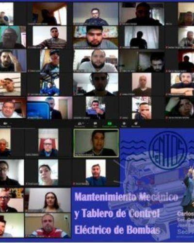 La FeNTOS organizó una capacitación técnica en forma virtual