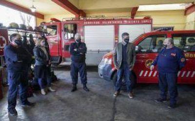 Vicente López: Jorge Macri reconoció a los bomberos en su día