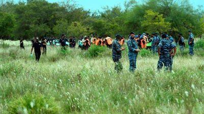 Hay más de 100 policías buscando a Tehuel De la Torre en el predio de la Ceamse de San Vicente