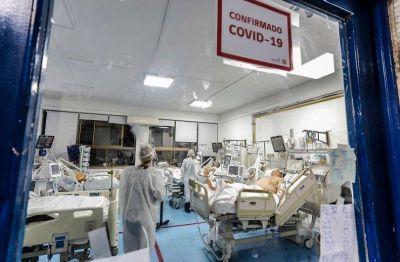 La provincia batió su record de internaciones por coronavirus