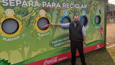 Instalarán puntos de separación de reciclables en varias escuelas de Puerto Iguazú