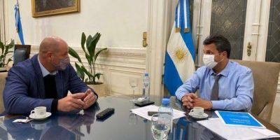 Puertos argentinos: Massa recibió a Salom para avanzar en la tecnificación portuaria
