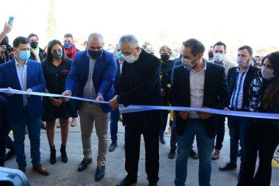 El gobernador inauguró en Villa Mercedes una Planta de Clasificación de Residuos Inorgánicos