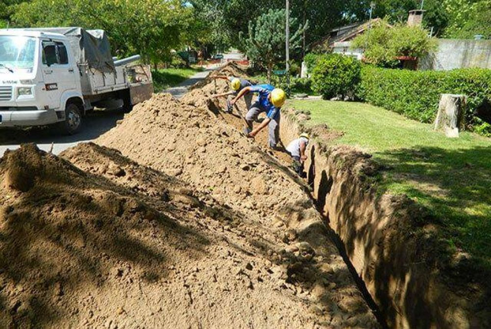 La Provincia confirmó obras de cloaca para dos barrios de Mar del Plata