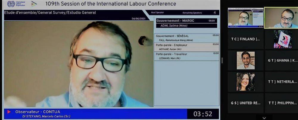 OIT 2021: El movimiento sindical reclama nuevas normas protectorias para el teletrabajo