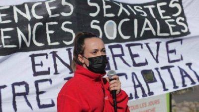 Francia: joven despedida por defender a sus compañeras contra la violencia sexista