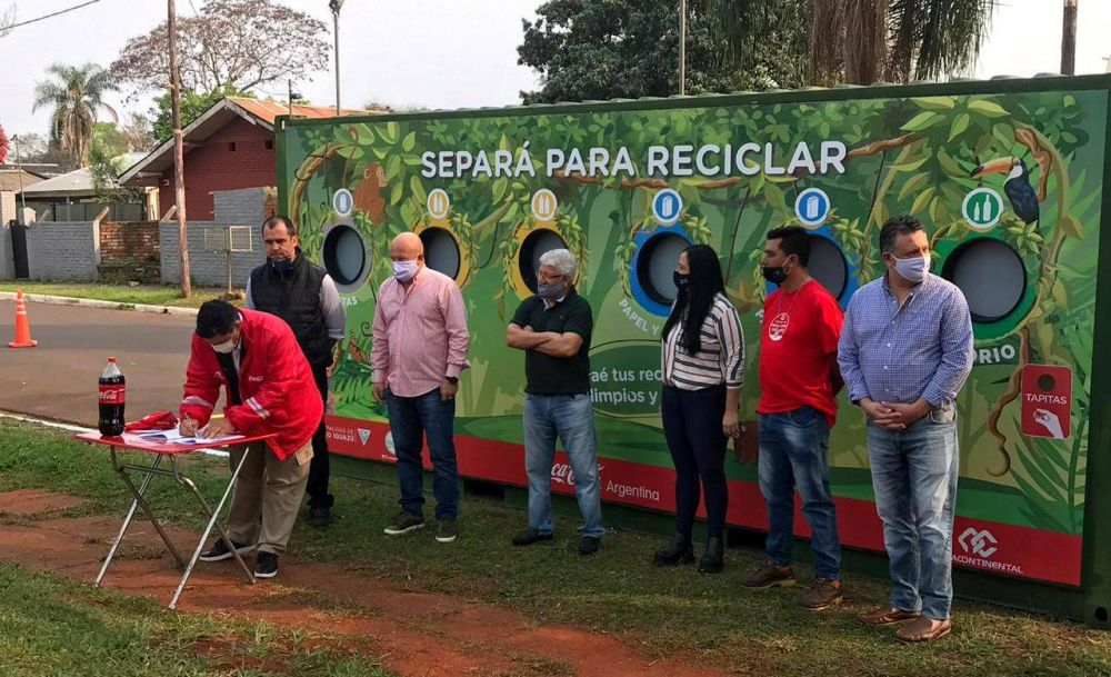 Con el reciclaje y una alianza público-privada, Puerto Iguazú ve un futuro más limpio