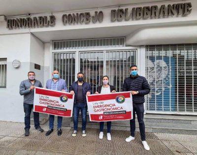 Micucci se reunió con la Federación Gastronómica e impulsan la Ley de Emergencia para el sector