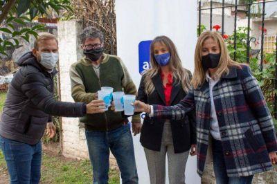 Inauguraron en Ezeiza una red de agua potable que va a beneficiar a más de 20 mil vecinos
