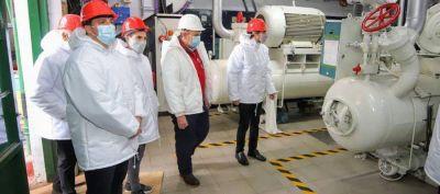 Avellaneda: visita al frigorífico Agro Patagónico en el distrito