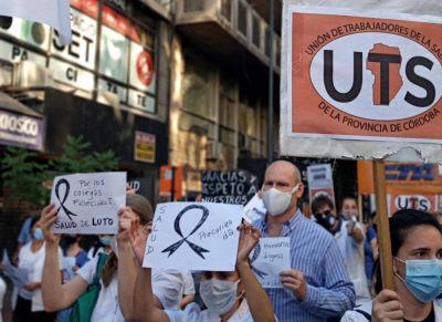 La UTS expresó su pesar por la muerte de tres trabajadores de la salud