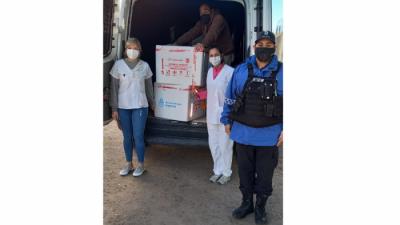 COVID l Llegaron 2400 vacunas más a San Nicolás
