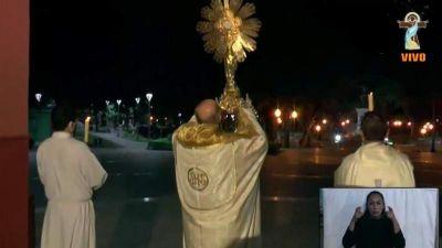 Catamarca pidió por el cese de la pandemia en Corpus Christi