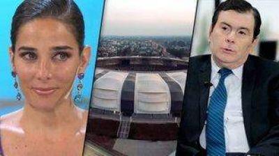 Juana Viale cuestionó el estadio de Santiago del Estero y Gerardo Zamora la liquidó