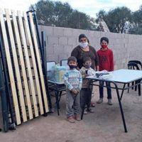 Desarrollo Social de la provincia asistió a 10 familias de Sol de Julio