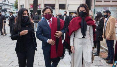 Sáenz y Romero encabezaron los actos por el Bicentenario del General Güemes
