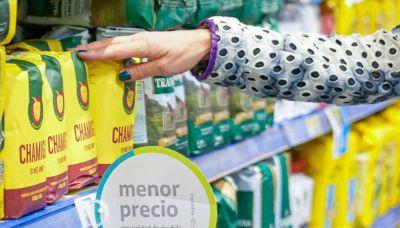 """En otra recorrida por la Ley de Góndolas, Español reconoció que """"ya se ve otro aspecto en los supermercados"""""""
