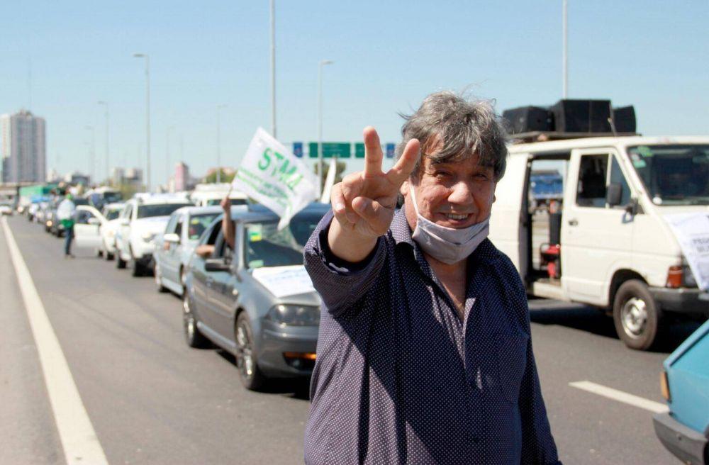 """El """"Cholo"""" García destacó la conducción de Alberto, la solidaridad de Axel y le reclamó las vacunas para los municipales"""