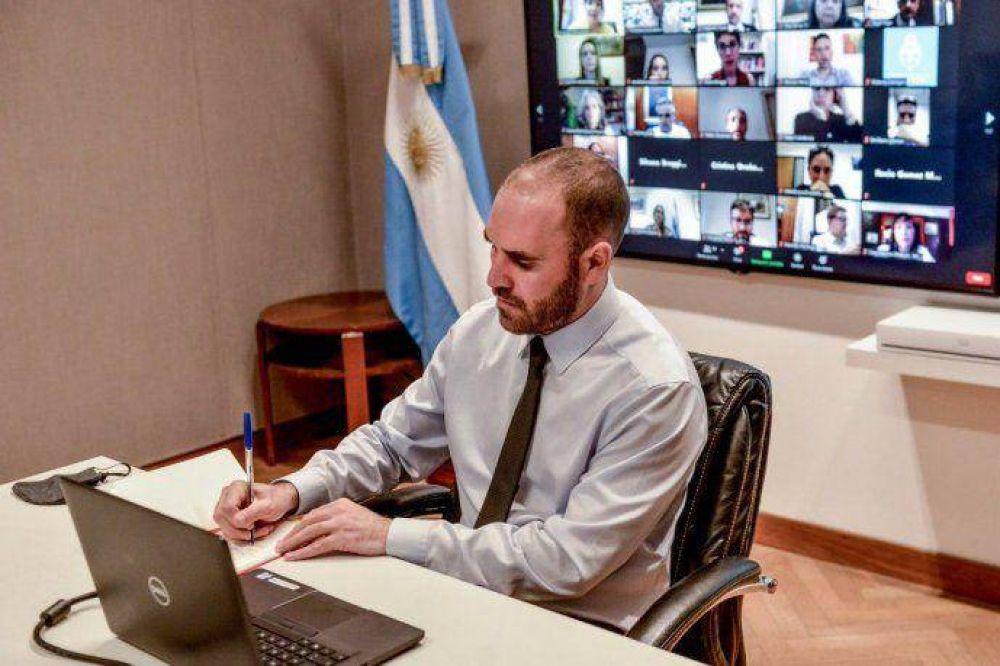 Guzmán insistirá en que los acuerdos con el FMI y el Club de París pasen por el Congreso