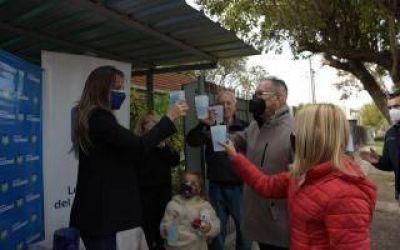 Ituzaingó: Descalzo y Galmarini habilitaron nuevo módulo de agua corriente