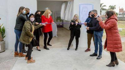 Zabaleta inauguró la ampliación de la Casa de la Mujer en Hurlingham