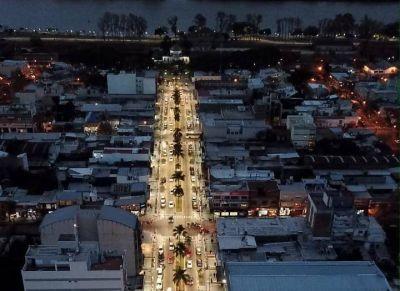 """Abella: """"Una ciudad más iluminada es una ciudad más segura"""""""