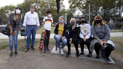 Brown: el Municipio renovó la Plaza Delguy e inauguró el Skate Park Burzaco