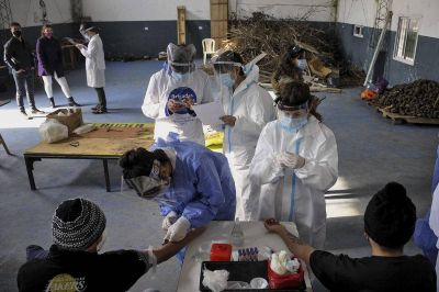 Sigue golpeando la pandemia: 722 fallecidos y 31.137 nuevos contagios