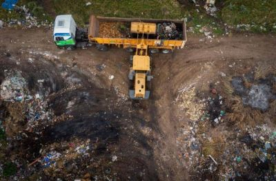 Retiraron más de 112 toneladas de basura en el barrio Santa Rosa de Lima