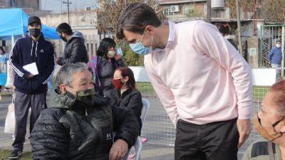 «Tu barrio con vos» llegó a Morón: Vacunas, castraciones y documentos