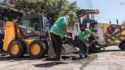 Cerca de mil baches reparados y más de treinta cuadras completas durante el primer semestre en Lanús