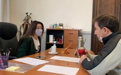 El Intendente y la Presidenta del Concejo Deliberante analizaron proyectos
