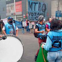 Movimientos sociales volvieron a protestar en Lomas de Zamora