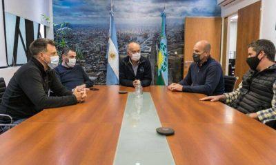 Martiniano Molina visitó a Néstor Grindetti para hablar de política y la situación social de Quilmes y la región