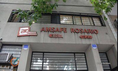 Amsafe Rosario decidió no asistir a las escuelas y garantizar solo guardias mínimas