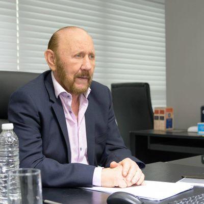 Gildo Insfrán participó del anuncio de políticas habitacionales del presidente Fernández